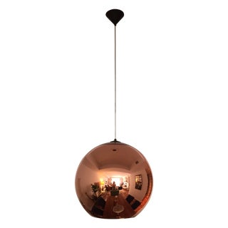 Tom Dixon Large Copper Shade Pendant