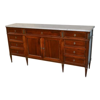 French Louis XVI Inlaid Sideboard