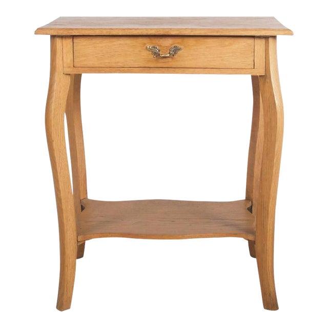 Small Oak Console Table, 1930s For Sale