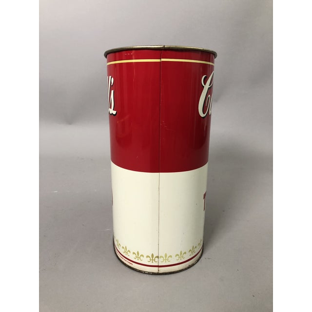 Mid-Century Modern Campbell's Waste Paper Basket For Sale - Image 3 of 6
