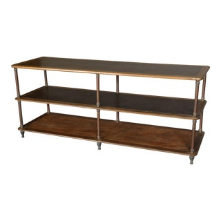 19th Century French Industrial Etagere Shelves