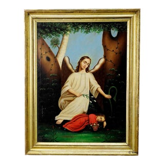 Unknown - Angel With Sleeping Child For Sale