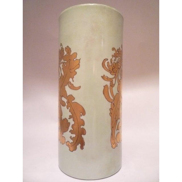 Vintage German Porcelain Gilt Vase - Image 3 of 7