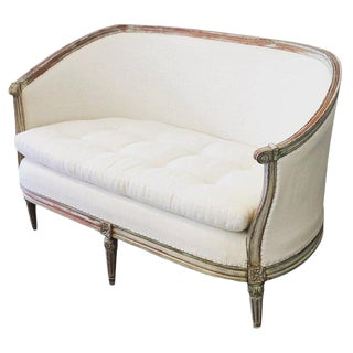 19th Century Gustavian Settee For Sale