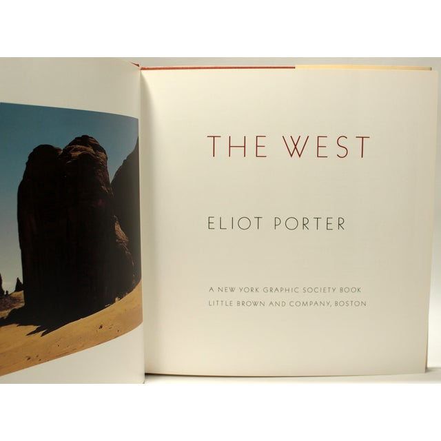 The spectacular beauty of the American West captured by the great Eliot Porter. The West by Eliot Porter. New York...