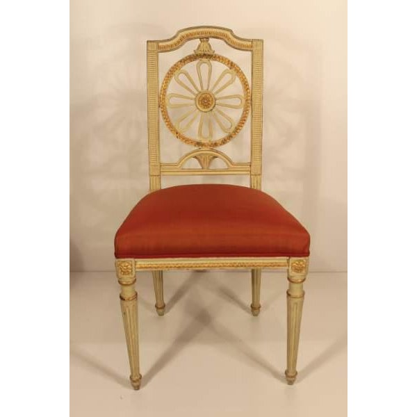 Early 19th Century 1800s Gustavian Dining Chairs - A Set of 4 For Sale - Image 5 of 6