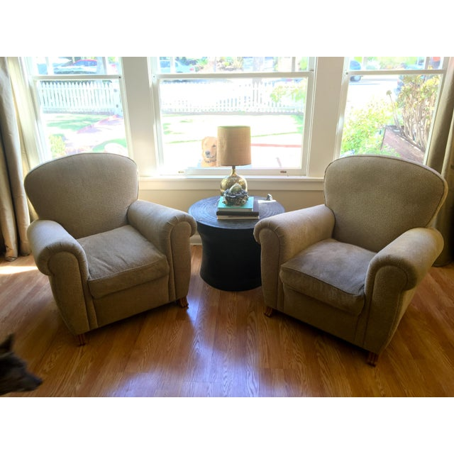 A. Rudin Club Chairs - A Pair - Image 2 of 5