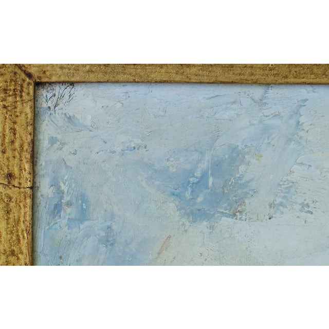 Paint Raoul Viard Haitian Modernist Oil Painting For Sale - Image 7 of 7