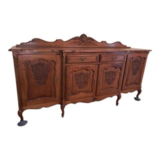 French Country Louis XV Style Buffet For Sale