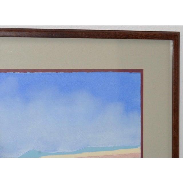 Vintage Southwest Pueblo Landscape Original Pastel Painting c.1985 Fantastic mid 80s pastel painting by mystery artist....