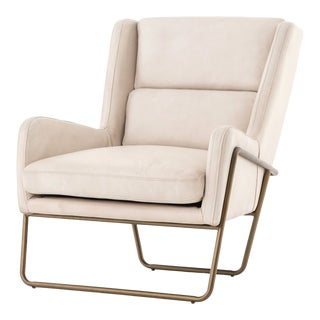 Erdos + Ko Home Ivory Webber Chair For Sale