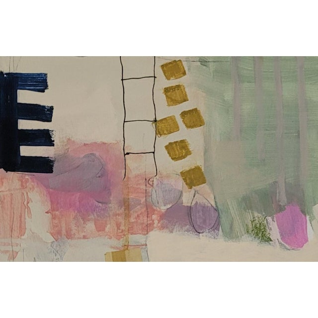 """Contemporary Contemporary 12""""×16"""" Original Abstract Painting by Mary Kaiser For Sale - Image 3 of 4"""