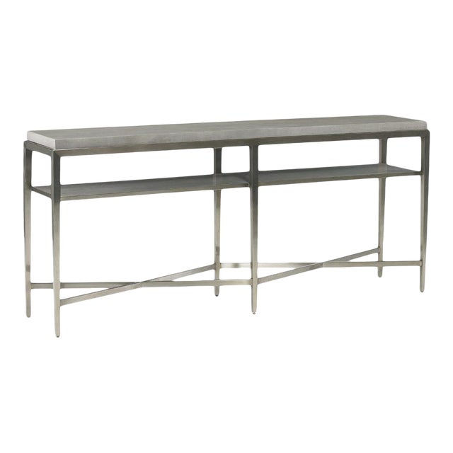 Contemporary Lund Console Table from Kenneth Ludwig Chicago For Sale