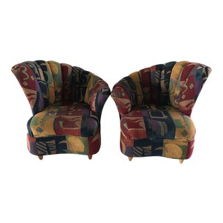 Art Deco Style Chairs - A Pair