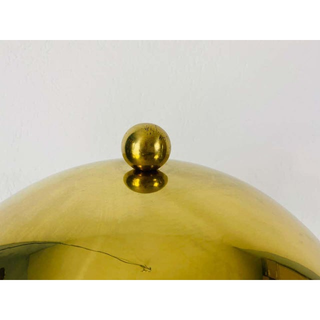 An Italian table lamp made in the 1960s. Made by very heavy solid brass. The light requires three E27 light bulbs. Good...