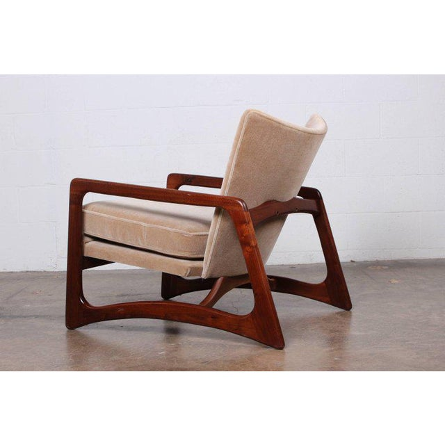 Pair of Lounge Chairs by Adrian Pearsall For Sale - Image 9 of 11