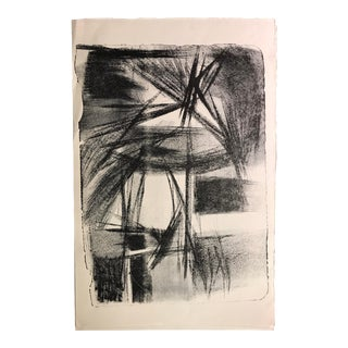 Jerry Opper 1940-50s Abstract Mid Century Lithograph For Sale