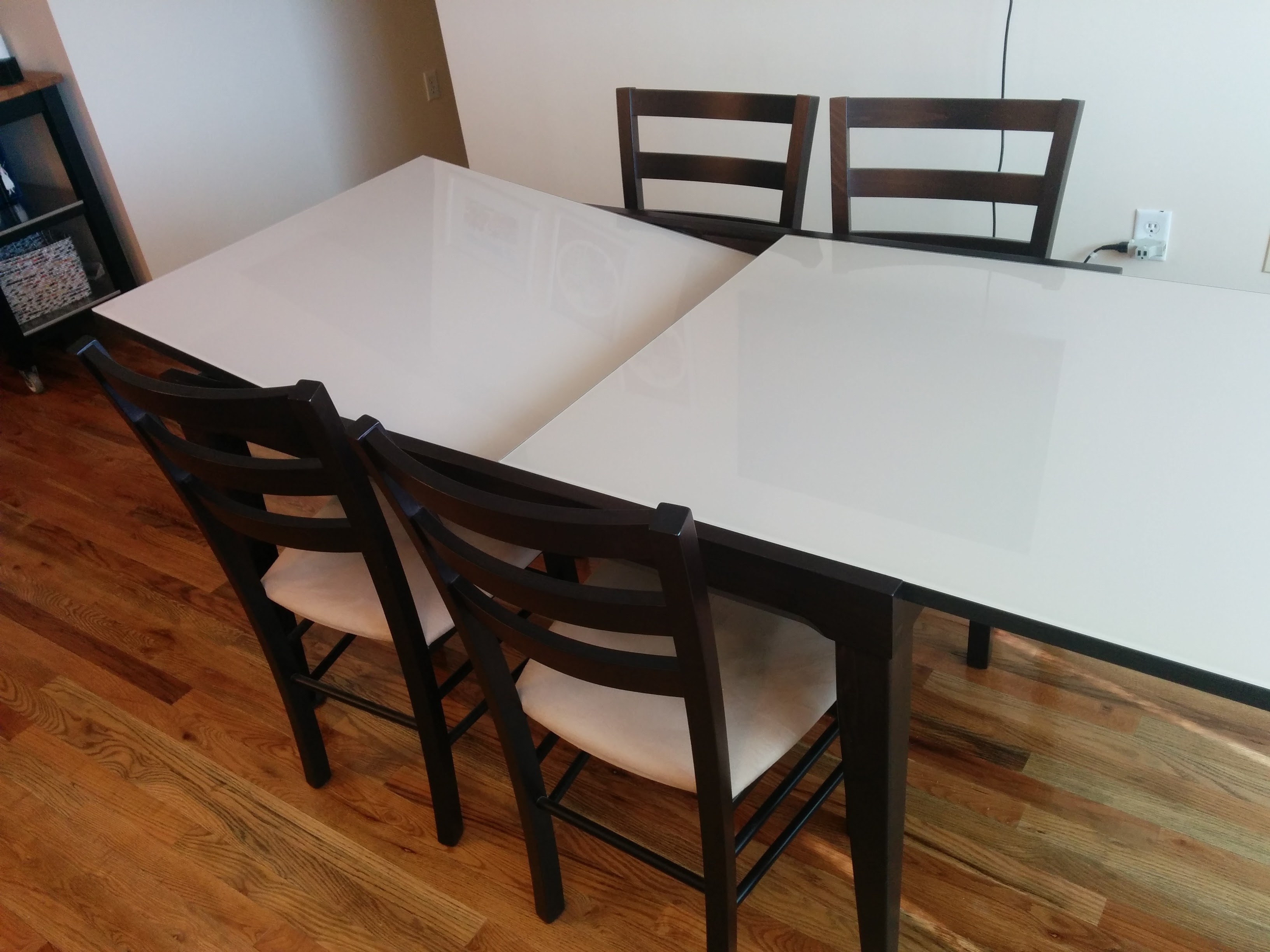 cafe latte dining table macy s - dining tables
