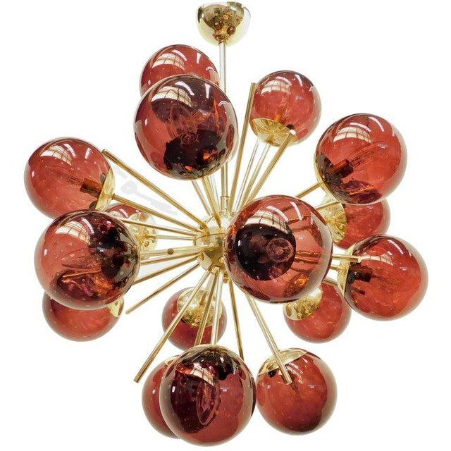 Fabio Ltd Diciotto Sputnik Chandelier by Fabio Ltd For Sale - Image 4 of 8