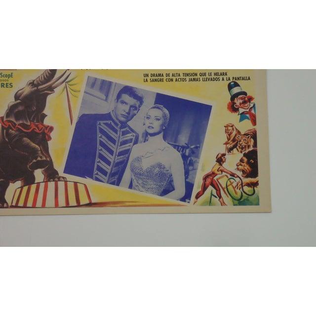 Vintage Spanish Circus Movie Poster Bimbo Elephant - Image 4 of 6
