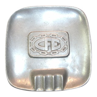 Carson Pewter Cigar Ashtray For Sale