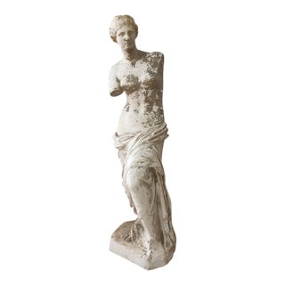 French Plaster Bust of Venus De Milo For Sale