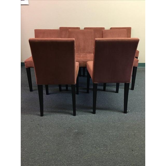 Ligne Roset Ligne Roset French Line Dining Chairs - Set of 8 For Sale - Image 4 of 9