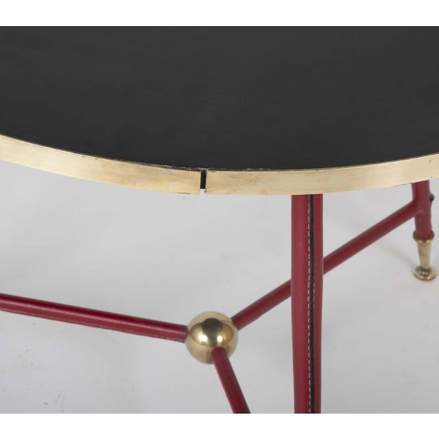 Pair Of Jules Leleu Side Tables For Sale - Image 9 of 13