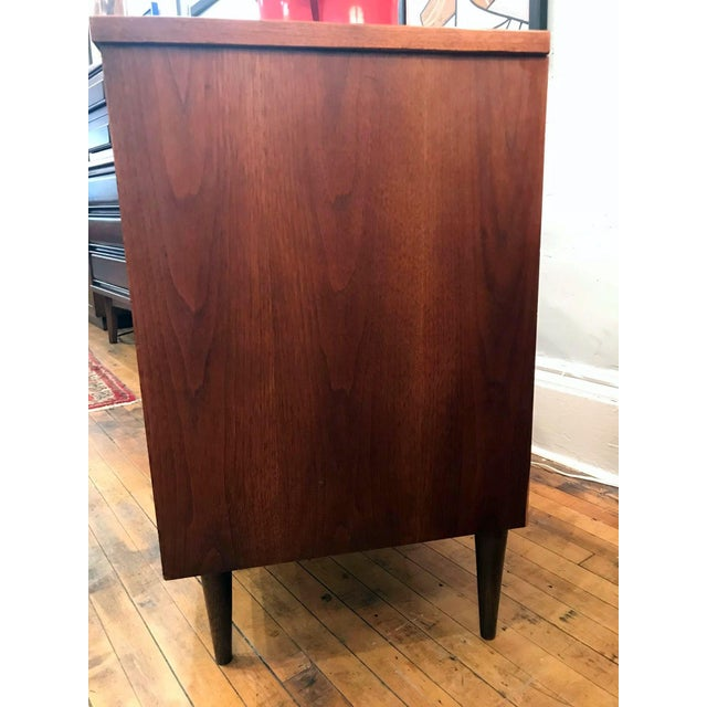 Mid Century Walnut Low Dresser by Basset 1960's For Sale - Image 9 of 10