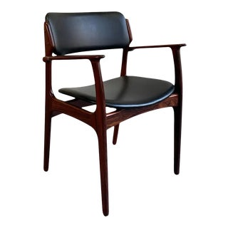 Danish Modern Rosewood Armchair by Erik Buch for o.d. Mobler For Sale