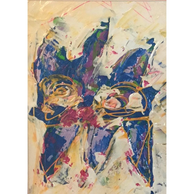 Abstract Expressionism Wayne Cunningham Abstract Expressionist Painting For Sale - Image 3 of 6