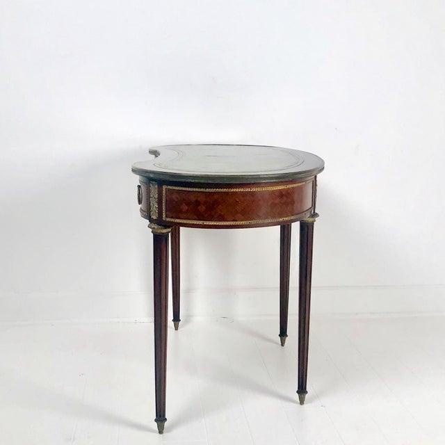Louis XVI Style Desk Circa 1920 For Sale - Image 4 of 8