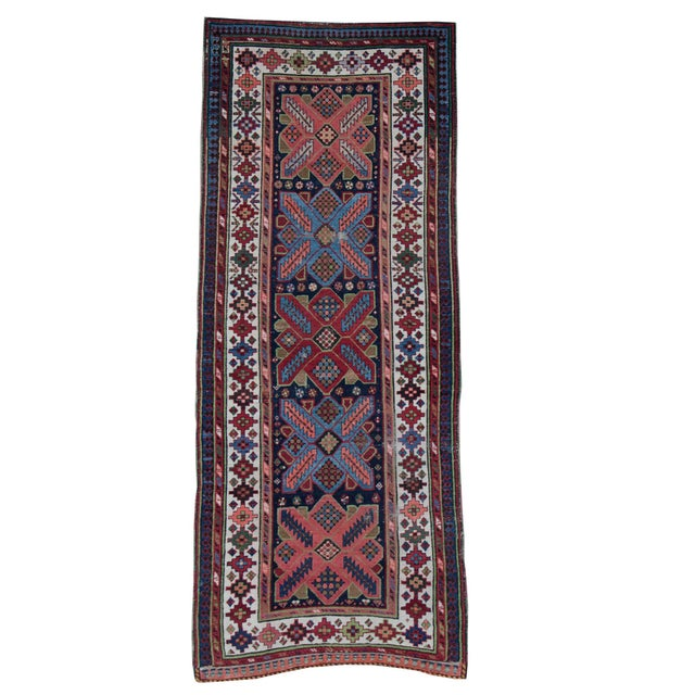 Antique Persian Talish Runner- 3′8″ × 9′1″ For Sale - Image 4 of 4