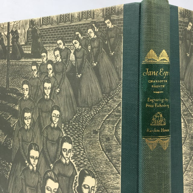 1943 Book With Art, Charlotte Bronte's Jane Eyre - Image 5 of 7