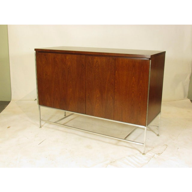 Mid-Century Modern 1950's Mid Century Walnut Server by Paul McCobb For Sale - Image 3 of 11