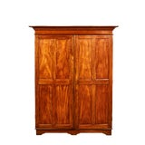 Image of 19th Century Two Door Simple Satinwood Cabinet For Sale