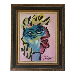 Abstract Painting by Peter Keil - Framed For Sale