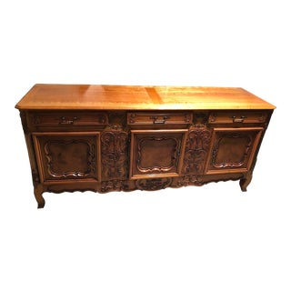 1950's French Provincial Sideboard For Sale