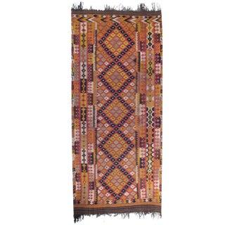 Large and Long Uzbek Kilim For Sale