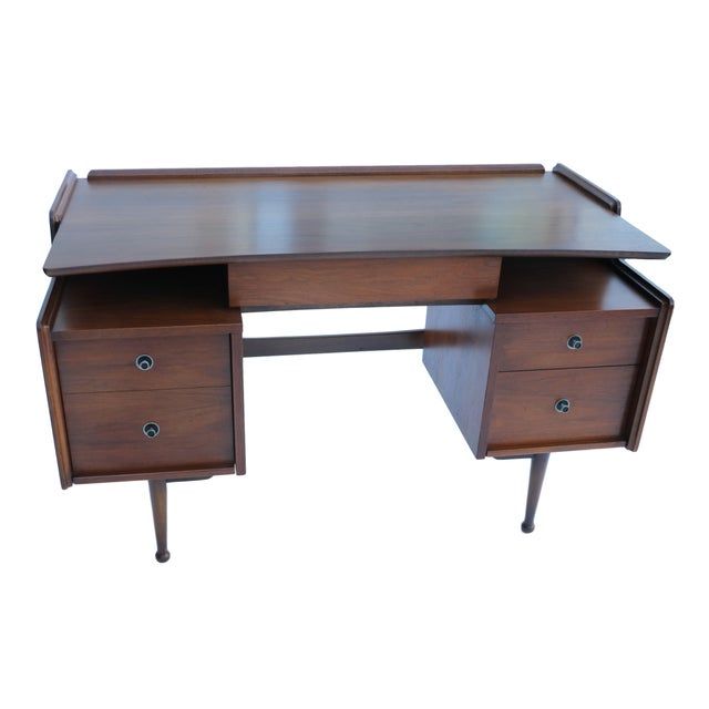 Mainline Hooker Mid Century Floating Desk - Image 6 of 10