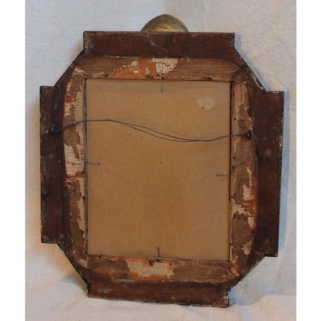 Antique Renaissance Revival Gilt Wood Mirror - Image 7 of 8