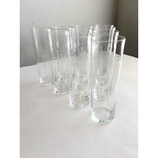 Noritake Bamboo Iced Tea Glasses - Set of 10 - Image 3 of 5