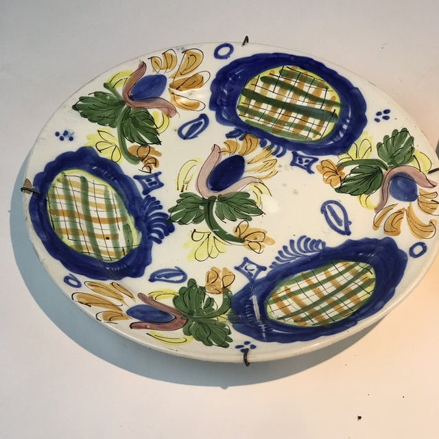 Late 19th Century 19th Century Country Dutch Gaudy Faience Plates - a Pair For Sale - Image 5 of 13