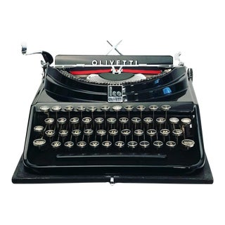 Olivetti ICO Portable Typewriter For Sale