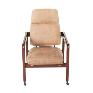 "Mid-Century Modern Sergio Rodrigues ""Kiko"" Desk Chair"