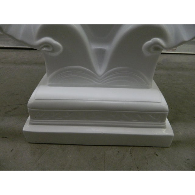 Hollywood Regency Lacquered Shell Console Table - Image 6 of 7