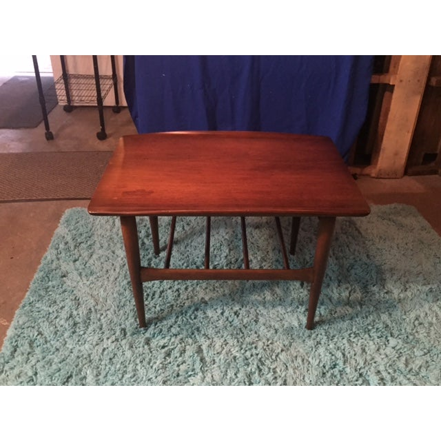 Lane Mid Century Modern Walnut Coffee Table - Image 10 of 10