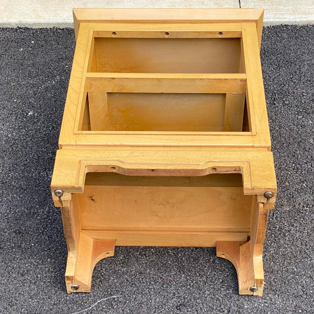 Wood Tomlinson Nightstand For Sale - Image 7 of 9