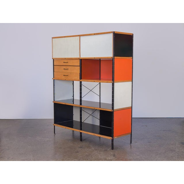 Charles & Ray Eames Esu 400 C Storage Unit for Herman Miller For Sale - Image 11 of 11
