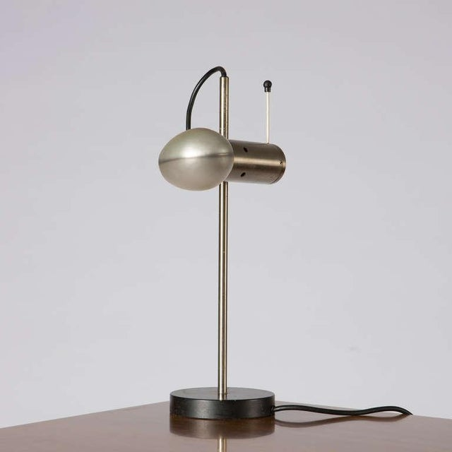Mid-Century Modern Table Lamp by Tito Agnoli for O-Luce For Sale - Image 3 of 10